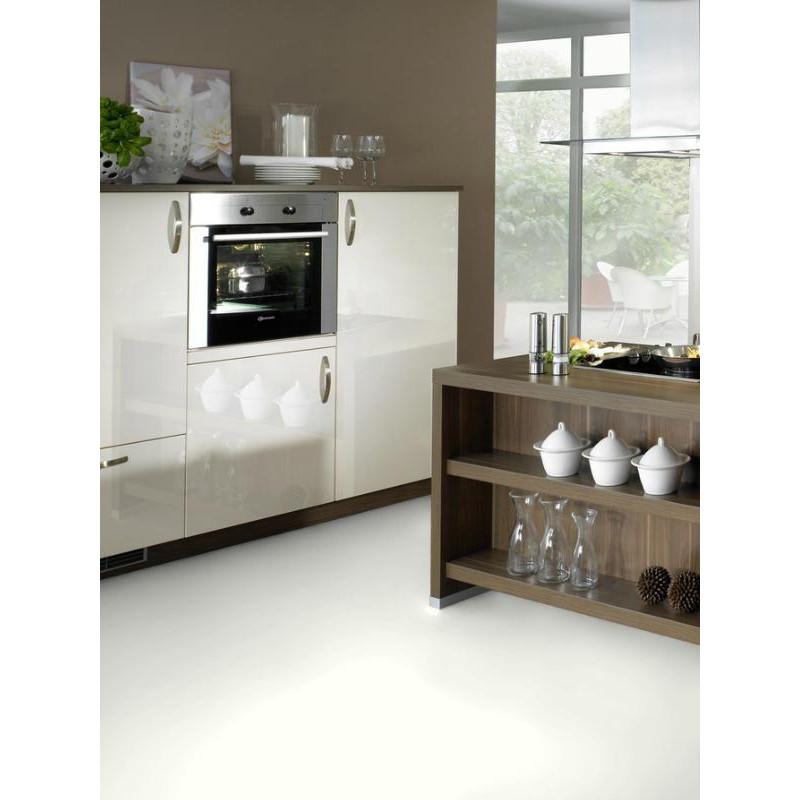 Wineo 550 - Sol stratifié - blanc White mat