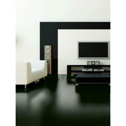 Wineo 550 - Sol stratifié - noir Black High Gloss