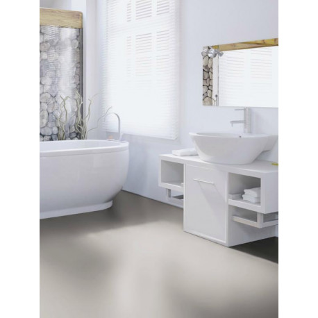 Wineo 550 - Sol stratifié - taupe clair Dove High Gloss