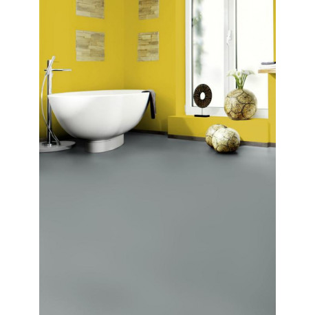 Wineo 550 - Sol stratifié - gris Dusty High Gloss