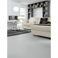 Wineo 550 - Sol stratifié - gris argent Silver High Gloss