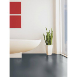 Wineo 550 - Sol stratifié - gris foncé Traffic High Gloss