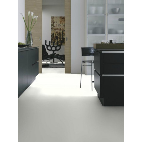 Wineo 550 - Sol stratifié - blanc White High Gloss