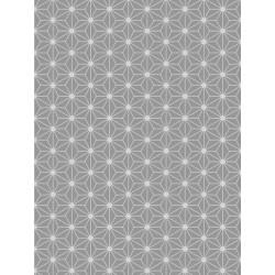 Papier peint origami gris scandinave graham brown - Papier peint graham brown ...