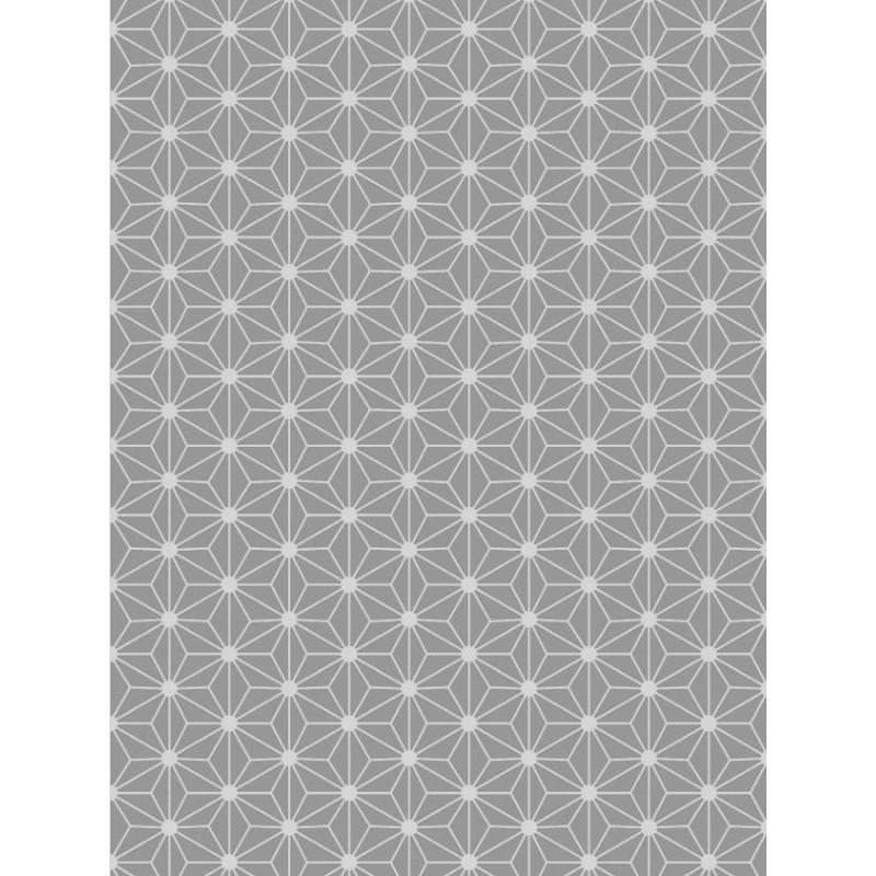 Papier peint origami gris scandinave graham brown - Tapisserie graham brown ...