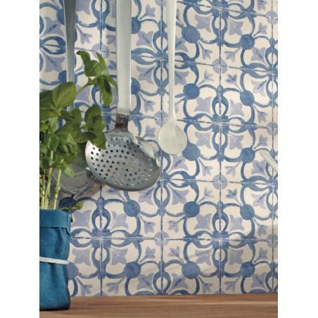 Papier peint Carreaux bleu - CAVAILLON - Caselio - CAV65036060