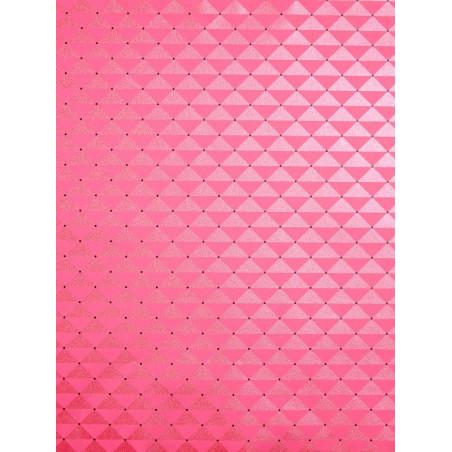 Papier peint à motif Capiton rose - Love - Caselio