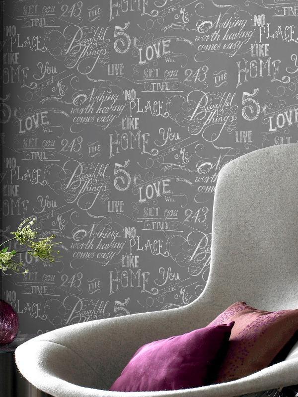 papier peint criture latest papier peint elitis ex libris with papier peint criture la vie. Black Bedroom Furniture Sets. Home Design Ideas