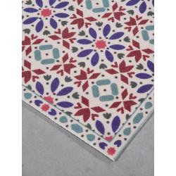 Tapis Tiznit - motif marocain coloré - Trinity Creations 80x150cm.