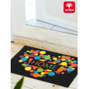 Paillasson 40x60cm ASTRA - Young Star - Coeur/bulles multicolores