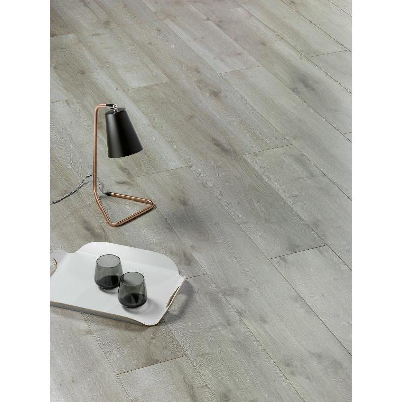ALSAPAN - Lames stratifiées à clipser Solid Alsafloor - Mercure bois mat 523