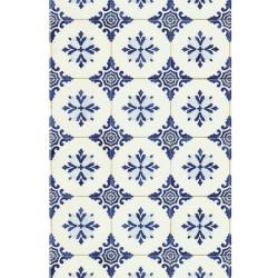 Lé unique Carrelage retro bleu - BON APPETIT - Caselio - BAP68516006