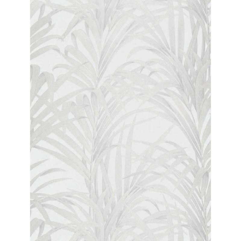 Papier peint Fougères blanc - LOUISE - Casadeco