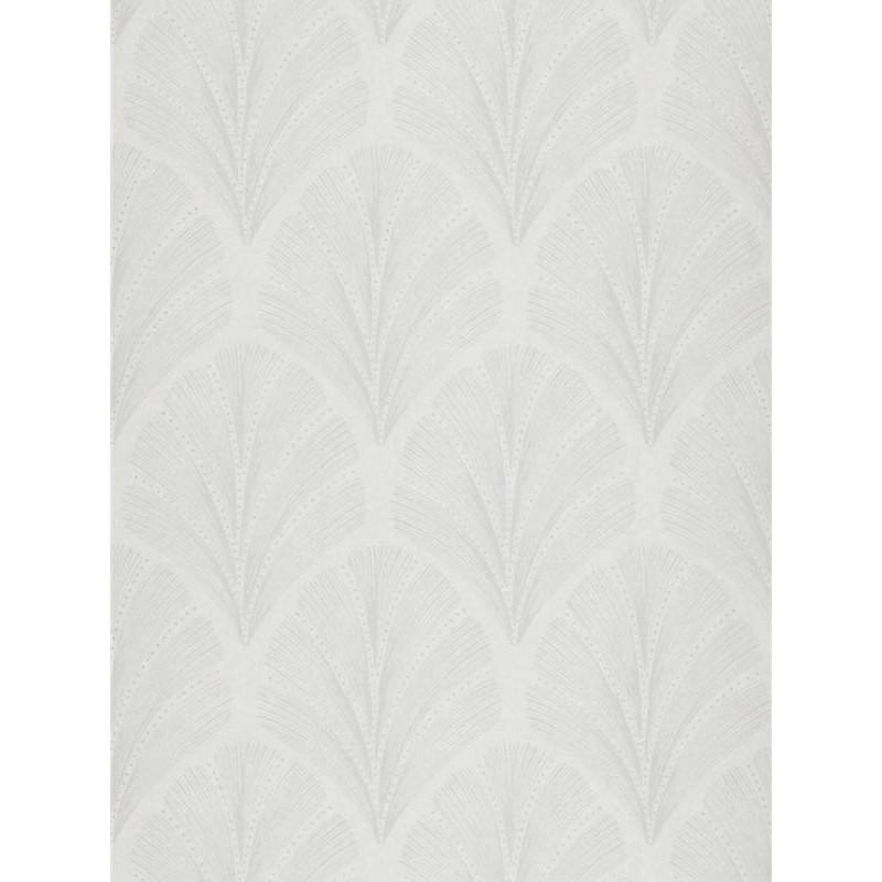 Papier peint Big Plumes blanc - LOUISE - Casadeco - LOU28910136