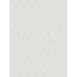 Papier peint Art déco blanc - LOUISE - Casadeco