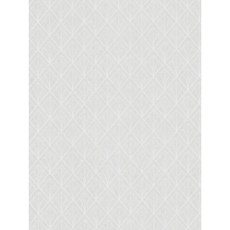 Papier peint Art Déco blanc - LOUISE - Casadeco - LOU28890133