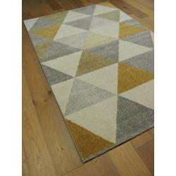 Tapis triangles jaune et gris ACCENT - Balta