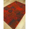 Tapis patchwork rouge - VINTAGE