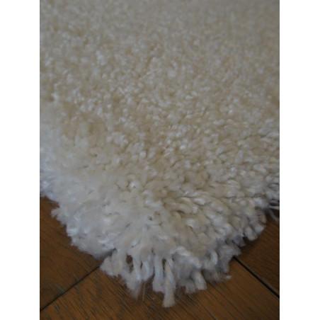 Tapis shaggy blanc - EDEN COSY