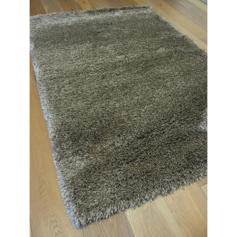 tapis shaggy uni taupe fonc sapphire shaggy balta. Black Bedroom Furniture Sets. Home Design Ideas
