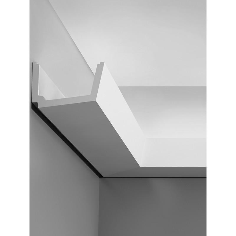 Corniche plafond d'éclairage indirect C357 STRAIGHT - LUXXUS - Orac Decor