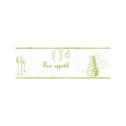 Frise Recettes blanc et vert - Bon Appétit - Caselio