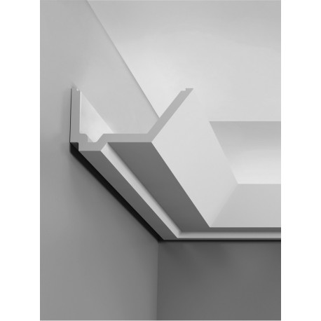 Corniche plafond d'éclairage indirect C358 RAIL - LUXXUS - Orac Decor