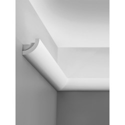 Corniche plafond d'éclairage indirect C362 CURVE - LUXXUS - Orac Decor