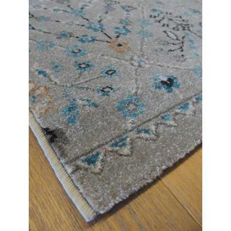 Tapis gris floral ANTIQUE 160x230cm