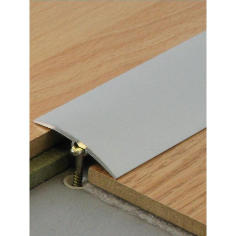 """Barre de seuil """"Aluminium"""" - 2,70mx41mm - multi-niveaux - Dinafix - DINAC"""