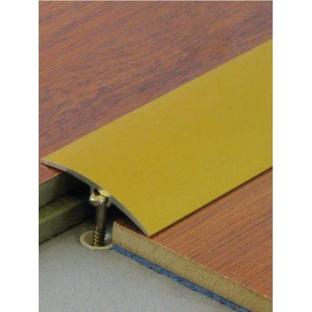 2,70mx30mm - Barre de seuil or invisible multi-niveaux Dinafix - DINAC
