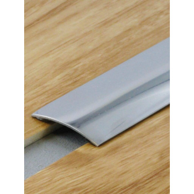 2 70mx30mm barre de seuil inox brillant adh sive plate dinac - Barre de seuil adhesive ...
