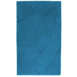 FIN DE STOCK - Tapis de bain ESTRELLA bleu aqua- Aquanova
