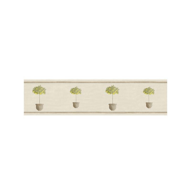 Frise Pots taupe beige - BON APPETIT - Caselio - BAP68447084