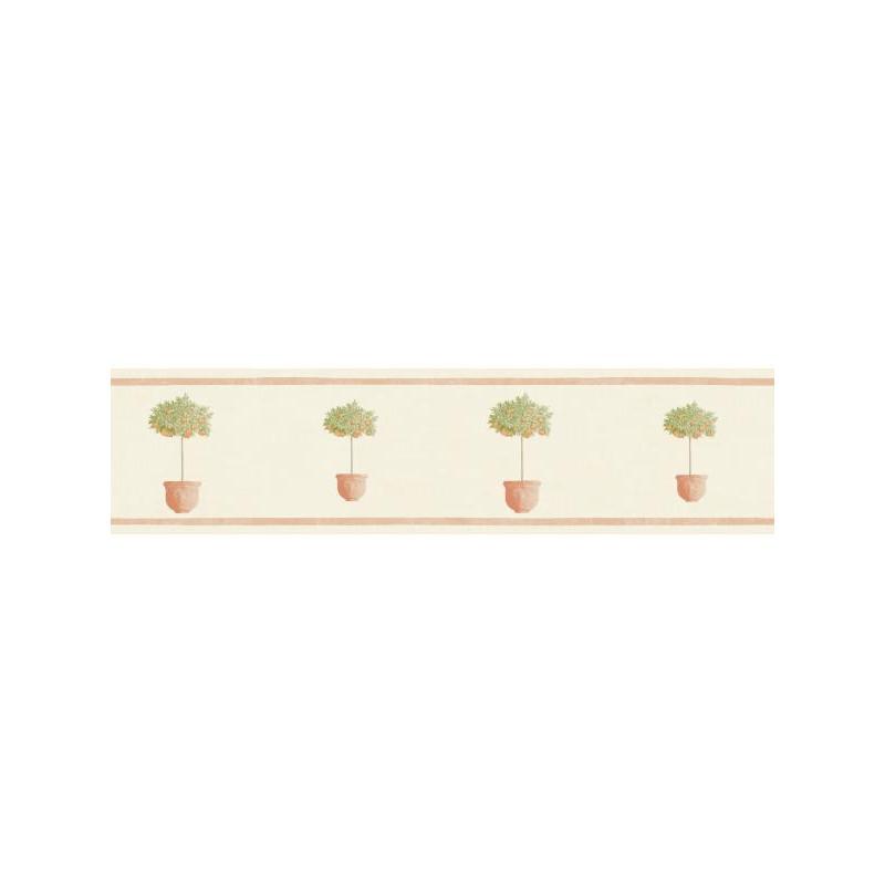 Frise Pots orange beige - BON APPETIT - Caselio - BAP68443033