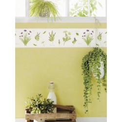 Frise Herbier blanc - BON APPETIT - Caselio - BAP68435004