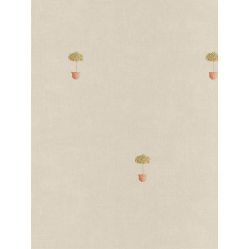Papier peint Pots orange / beige - Bon Appétit - Caselio