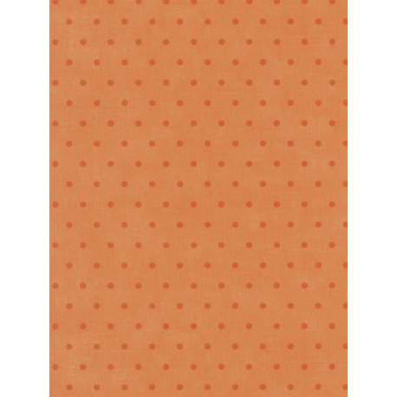 Papier peint Pois orange - Bon Appétit - Caselio