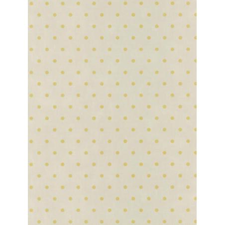 Papier peint Pois jaune - BON APPETIT - Caselio - BAP68382017