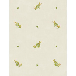 Papier peint Herbier beige clair - Bon Appétit - Caselio