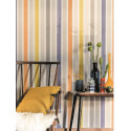 Papier peint Rayure Matelas multicolore - SWING - Caselio - SNG68904428
