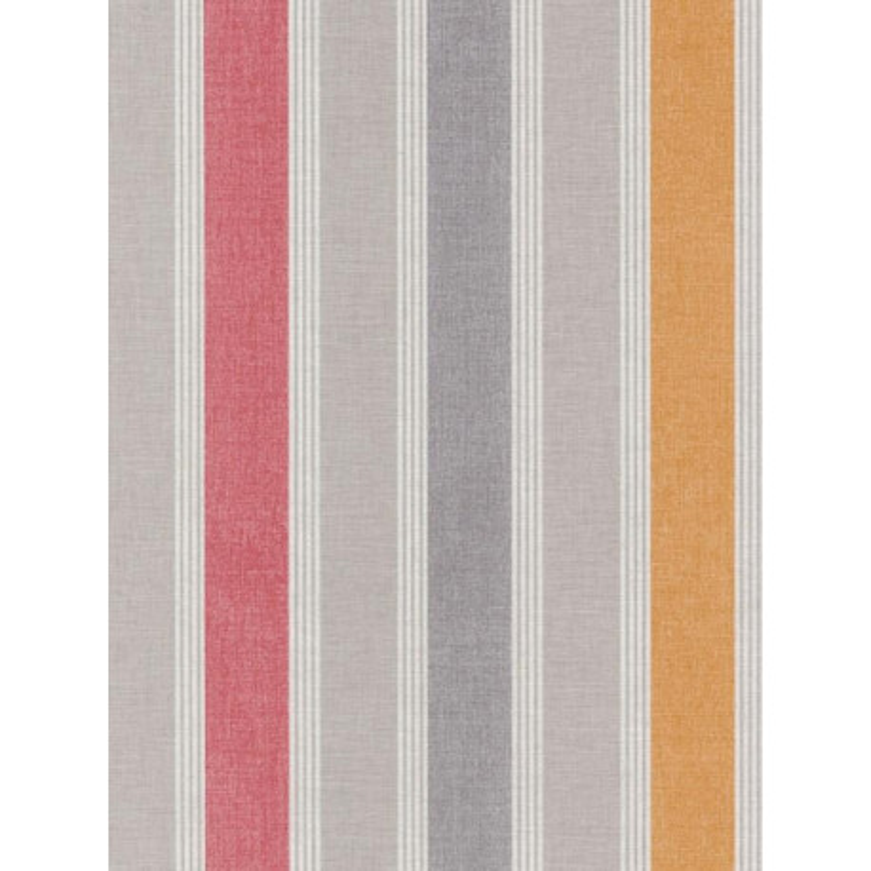 Papier peint Rayure Matelas orange - SWING - Caselio - SNG68903791