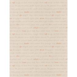 Papier peint Ingrédients beige orange - BON APPETIT - Caselio - BAP68363010