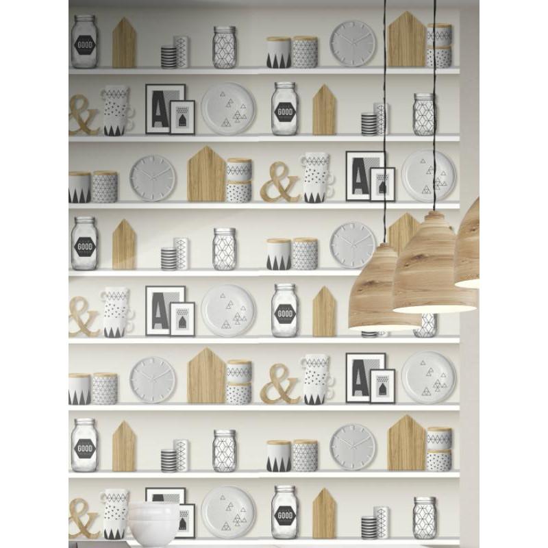 Papier peint trompe l'œil Nordic Home - UGEPA