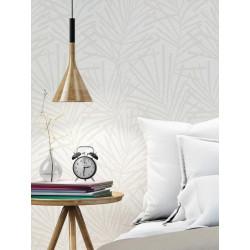 Papier peint vinyle sur intissé AURA Palme Design Beige - GRAHAM & BROWN