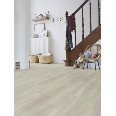 Lame vinyle PVC à clipser Bois Scandinave beige Starfloor Click 30 - Tarkett