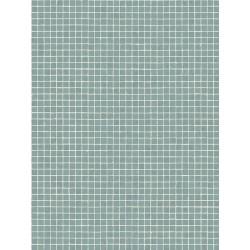 Revêtement PVC - Largeur 3m - EMOTION RETRO mosaïque verte - Beauflor Sintra 550M
