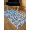 Tapis vinyle PVC - Lisbon bleu - 66x100cm
