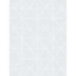 Papier peint intissé graphique bleu - AS CREATION
