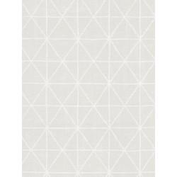 Papier peint intissé graphique motif losange écru - SCANDINAVIAN STYLE - AS CREATION
